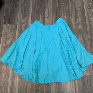 Modcloth mint green full skirt